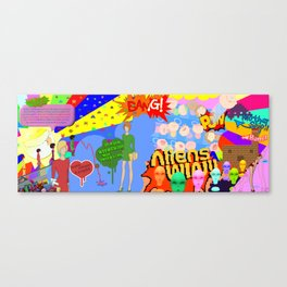 The End Is Nigh! Canvas Print