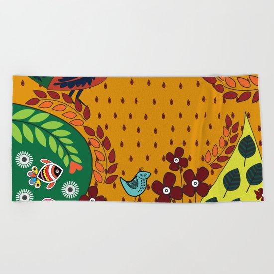 Pattern X Beach Towel