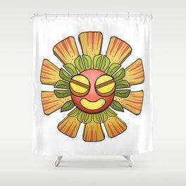 Ba'Root Shower Curtain