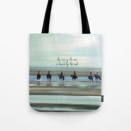 sea horses Tote Bag
