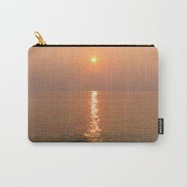 Vietnamese Pastel Pink Warm Ocean Sunset  Carry-All Pouch