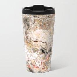Earth Strata Marble Metal Travel Mug