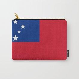 Samoa Flag Carry-All Pouch