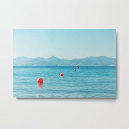 Cannes' Bay Metal Print
