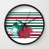 hunting Wall Clocks featuring hunting by Alapapaju