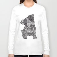 jack russell Long Sleeve T-shirts featuring Jack Russell by DiAnne Ferrer