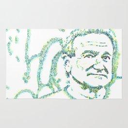 Likeness of Robin Williams Rug