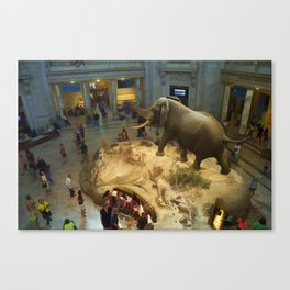 Visit to the Science Museum Canvas Print