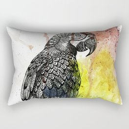 Ornate Mackaw Rectangular Pillow