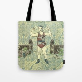 Rustic hero Tote Bag