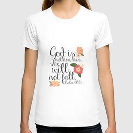 She Will Not Fall T-shirt