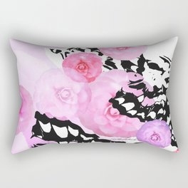 Camellia Blush Rectangular Pillow