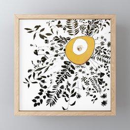 Earth Abstract Framed Mini Art Print