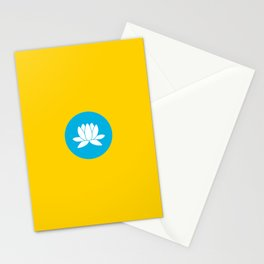 kalmykia flag Stationery Cards