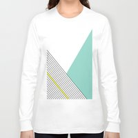 minimal Long Sleeve T-shirts featuring MINIMAL COMPLEXITY by .eg.