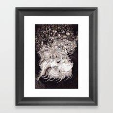 Astral Airlines Framed Art Print