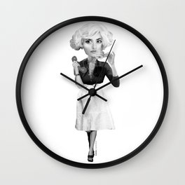 UNIVERSE OF ALMODOVAR Wall Clock