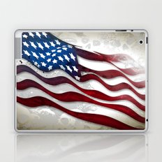 Old Glory...long may she wave Laptop & iPad Skin