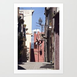 Sicilian Mountainvillage - Forza d'Agro Art Print