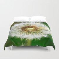 dandelion Duvet Covers featuring Dandelion by Falko Follert Art-FF77