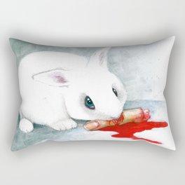 can i finish? Rectangular Pillow