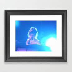 The DJ Framed Art Print