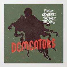 Dementors Canvas Print