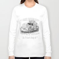 truck Long Sleeve T-shirts featuring truck by AmandaSmentkowskiArt