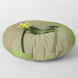 Green Winged Fairy Butterfly Floor Pillow