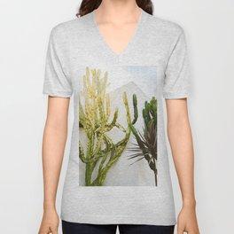 California Cactus Garden Unisex V-Neck