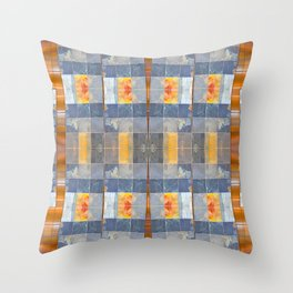 Clean Slate (Going Down) Throw Pillow