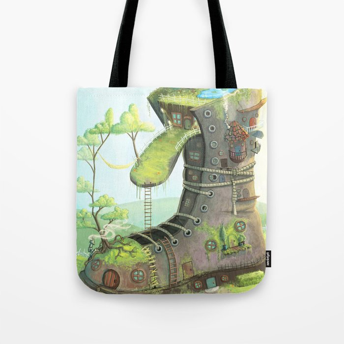 There was an old woman... Tote Bag