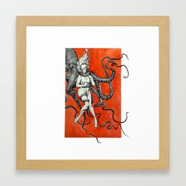Choke Framed Art Print