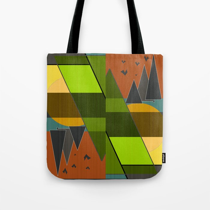 Abstraction. Tote Bag