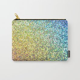 Rainbow Ombre Glitter Carry-All Pouch