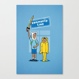 Community Time! Canvas Print