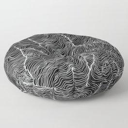 Inverted Viscosity Floor Pillow
