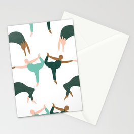 Yoga Class Stationery Cards
