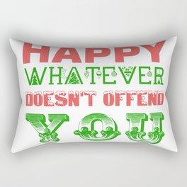 Happy Whatever Xmas Rectangular Pillow