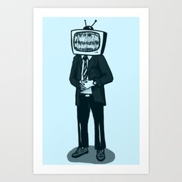 You Know [Video] had to do it to [The Radio Star] Art Print