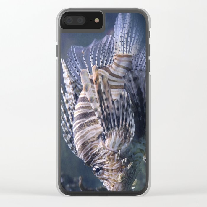 sea fish Clear iPhone Case