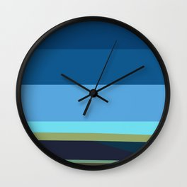 Santa Monica Horizon 0203 Wall Clock