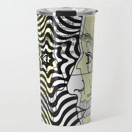 Optical Delusion Travel Mug