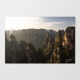 Morning in Zhangjiajie Canvas Print