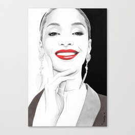 """Jourdan"" Canvas Print"