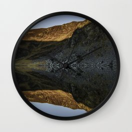 Wicklow Mountains Sunrise Wall Clock