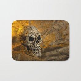 Skull And Sackcloth Bath Mat