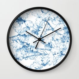 Quercus robur Wall Clock
