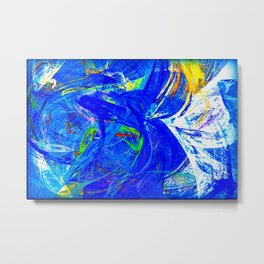 Splash of Paint Metal Print