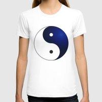 ying yang T-shirts featuring Ying Yang by Timeless-Id